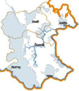 Območja Bele krajine, ki so uvrščena v območje Natura 2000.